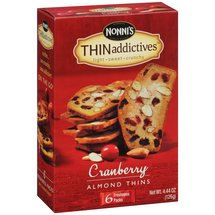 Nonni's THINaddictives Cranberry Almond Thins
