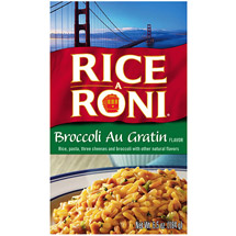 Rice A Roni Broccoli Au Gratin