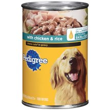 Pedigree w/Chicken & Rice Choice Cuts In Gravy Dog Food
