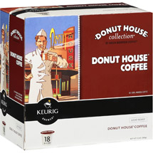 Keurig K-Cups Donut House Collection Regular Coffee