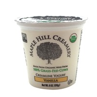 Maple Hill Creamery Yogurt Cream On Top Vanilla