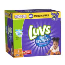 Luvs Diapers Size3