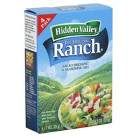 Hidden Valley Ranch Salad Dressing & Seasoning Mix - 4 PK
