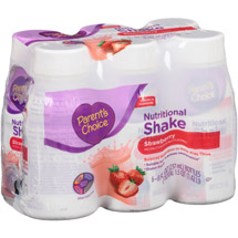 Parent's Choice Strawberry Nutritional Shake
