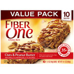 Fiber One Chewy Oats & Peanut Butter Bars