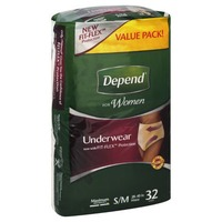 Depend for Women Maximum Absorbency S/M Underwear
