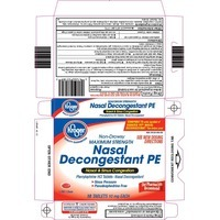 Kroger Maximum Strength Nasal Decongestant 10 Mg