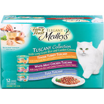 Fancy Feast Elegant Medleys Tuscany Collection Cat Food