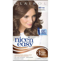Clairol Nice 'N Easy Hair Color Light Golden Brown 116A