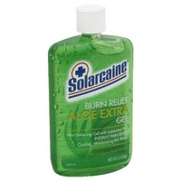Solarcaine Cool Aloe Burn Relief Formula with Lidocaine HCl Pain Relieving Gel
