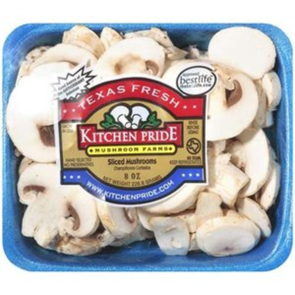 Kitchen Pride Mushroom Farms White Sliced Mushrooms