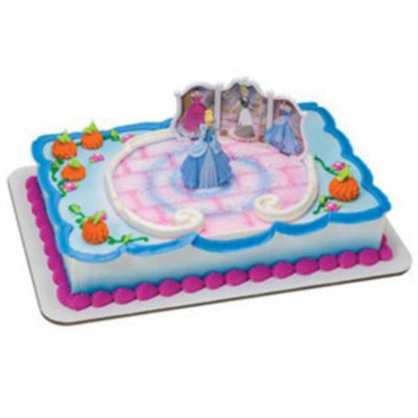 Cinderella Transforms Full Sheet Cake