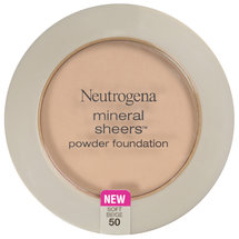 Neutrogena Mineral Sheers Compact Powder Foundation SPF 20 Soft Beige 50