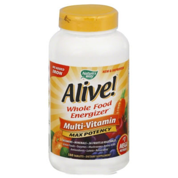 Nature's Way Alive! Max Potency Multi-Vitamin