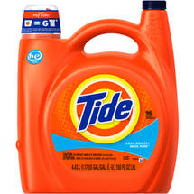 Tide 2x Ultra For He Machines Clean Breeze Liquid Laundry Detergent