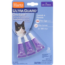 Hartz UltraGuard One Spot Flea and Tick Drops for Cats