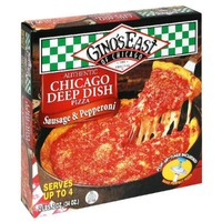 Gino's East Sausage & Pepperoni Pizza