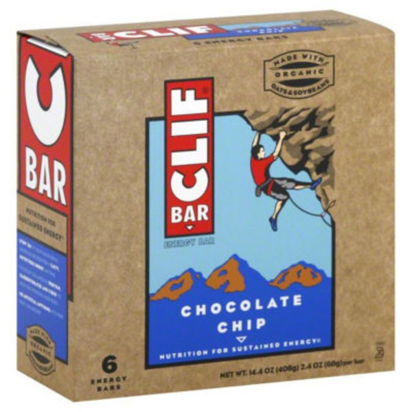 Clif Bar® Chocolate Chip Energy Bars