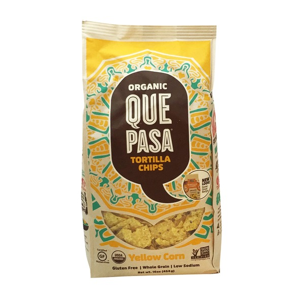 Que Pasa Organic Yellow Corn Tortilla Chips