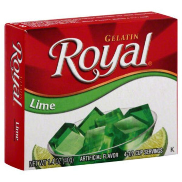 Royal Gelatin, Lime