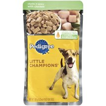 Little Champions Chunks In Gravy For Adult Dogs W/ Chicken