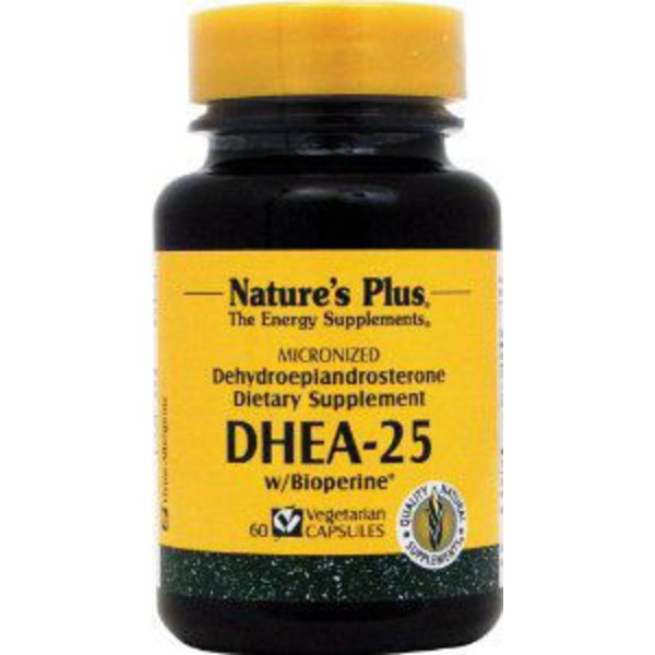 Nature's Plus Dhea 25 Mg Vegetarian Capsules