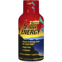 5-Hour Energy Berry Flavor Dietary Supplement (Pack of 12)