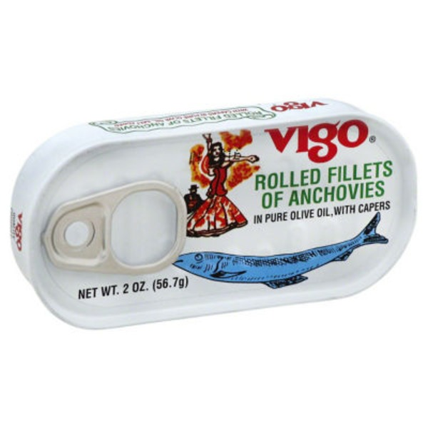 Vigo Rolled Fillets Of Anchovies