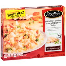 Stouffer's Satisfying Servings Grandma's Chicken & Vegetable Rice Bake