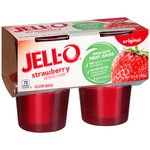 Jell-O Strawberry Gelatin Snacks