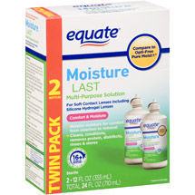 Equate Moisture Last Multi-Purpose Solution for Soft Contacts