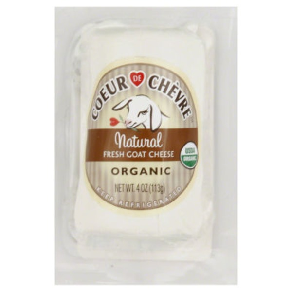 Coeur De Chèvre Organic Natural Fresh Goat Cheese