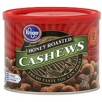 Kroger Cashews Honey Roasted