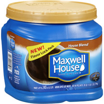 Maxwell House House Blend Ground Coffee