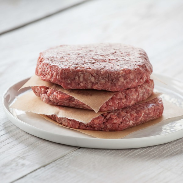 Whole Foods Market Ground Beef Chuck Patties 80% Lean, 20% Fat