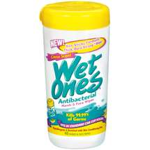 Wet Ones Antibacterial Citrus Scent Canisters