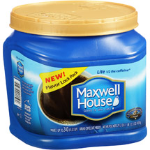 Maxwell House Lite Medium Ground Coffee