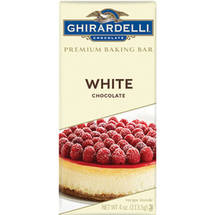 Ghirardelli Chocolate White Chocolate Premium Baking Bar