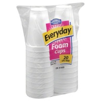 Hill Country Fare 20 oz Styrofoam Cups