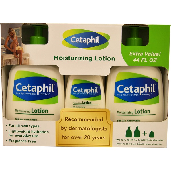 Cetaphil Cetaphil Moisturizing Cream For Dry Sensitive Skin, Bonus Pack (20 oz + 8.8 oz)