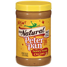 Peter Pan 100% Natural Honey Roast Creamy Peanut & Honey Spread