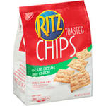 Nabisco Toasted Chips Sour Cream & Onion Ritz