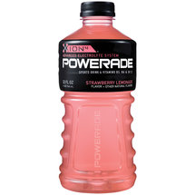 Powerade Strawberry-Lemonade Ion4 Sports Drink 32 Fl Oz