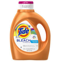 Tide Plus Bleach Alternative Clean Breeze Scent Liquid Laundry Detergent