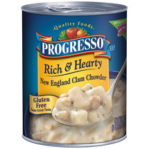 Progresso New England Clam Chowder Rich & Hearty
