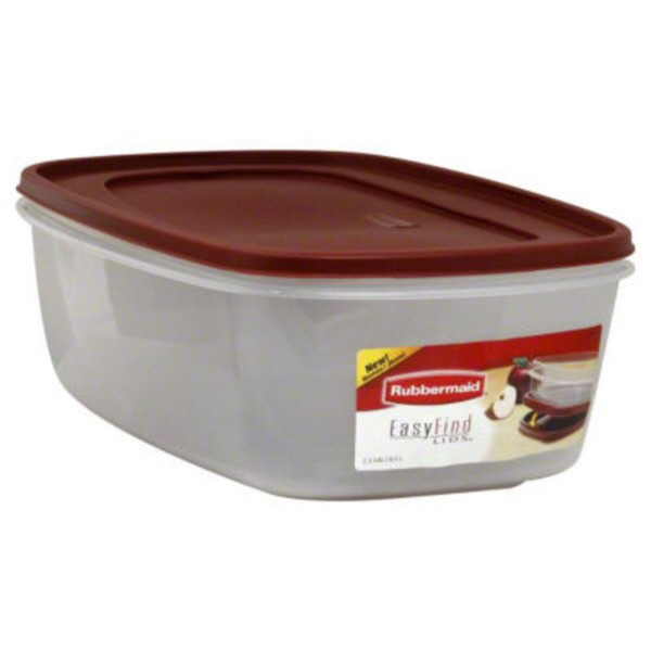Rubbermaid Easy Find Lids Container 2.5 GAL