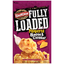 Idahoan Fully Loaded Peppered Bacon & Cheddar Instant Mashed Potatoes