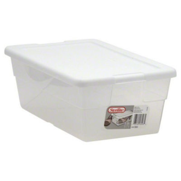 Sterilite Storage Box 6 Qt. Clear