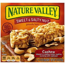Nature Valley Sweet & Salty Nut Cashew Granola Bars