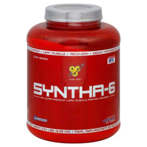 BSN Vanilla Ice Cream Syntha-6 Muscle Protein Powder